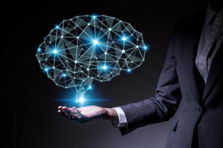 Ilustrasi Artificial Intelligence dan Machine Learning