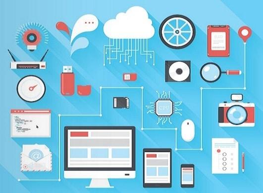 komputer, cloud sebagai ilustrasi