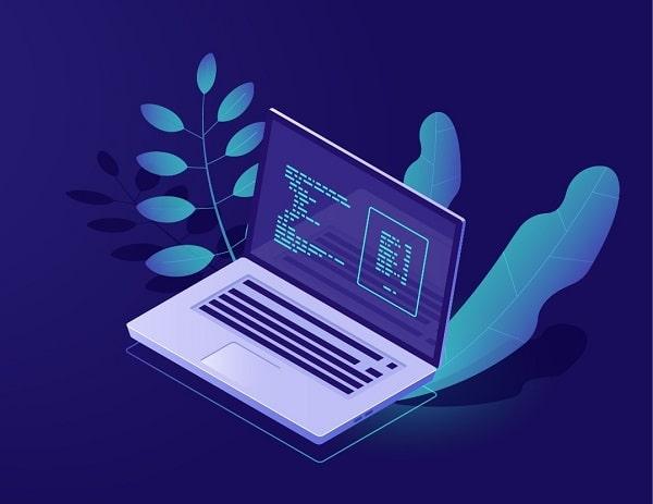 komputer ilustrasi