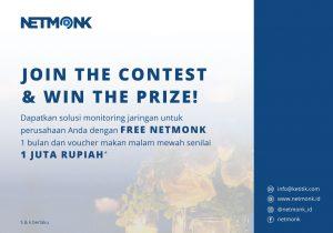 Ikuti Quiz dari NetMonk Berhadiah Jutaan Rupiah!