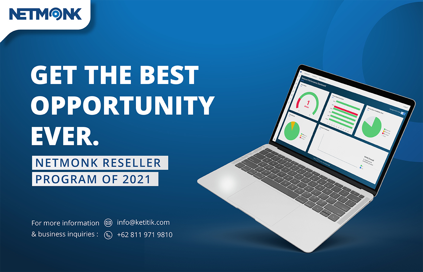 Netmonk Reseller Program 2021