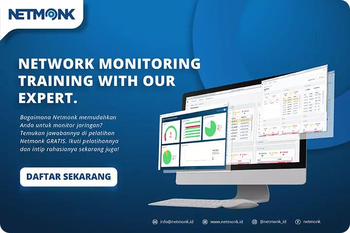 Pelatihan Monitoring Jaringan bersama Expert Netmonk